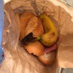 panino e frutta per il pranzo