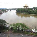 View of the Sarawak River
