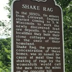 Shaking a rag was a signal for men to come home for a meal