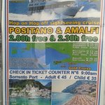 Get you cruise tickets in marina after 9am