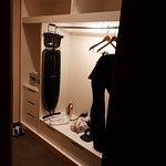 Loved the walk in wardrobe!