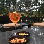 Aperol at sunset.