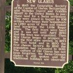 History of New Glarus (Swiss settlement in Wisconsin)