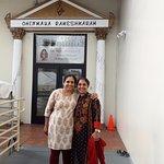 Rameshwaram @ LA,USA... Sisters posing!