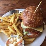 Chipotle chicken burger!