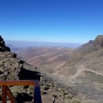 Top of Sani Pass at the Hightest Pub! Unbelievable view!!!