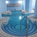 Indoor pool is lovely and beautiful decor