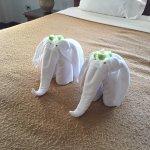 Слоники которые нас встречали