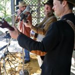 We have live music on weekends in the fall!