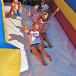 Have some fun this fall on one of our inflatables!
