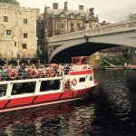 River Prince just about to head under Lendal Bridge