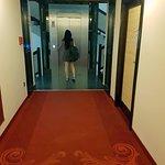Clean corridor, silent rooms.