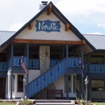 Entrance to the Nordic Inn