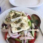 Greek salad...so fresh