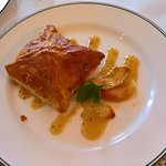 smoked duck puff pastry