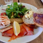 Fisherman's Platter at Boscastle Farm Shop