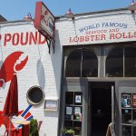 The entrance to Red Hook Lobster Pound