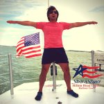 """America's Cup Sailing - Stars & Stripes """"I believe I can fly"""""""