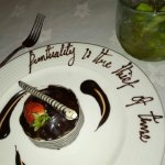 Oscar Wilde in chocolate:-)