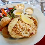 Crab Salad at The Riverside