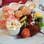 Prawn & Smoked Salmon Salad at The Riverside
