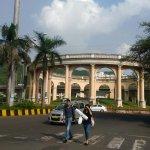 Beautiful monument at Utsav Chowk in Kharghar
