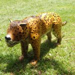 Jaguar sculpture