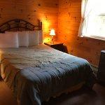 Chambre #2 avec lit double (chalet #1)