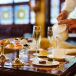 Classic afternoon tea at Bar Dandolo, every day from 3pm until 6pm