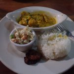 Coconut Curry Lion Fish