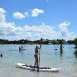 We have the most easy to ride, non perfermance paddleboards on the market. We dare you to fall o