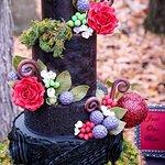 Custom Snow White Wedding Cake
