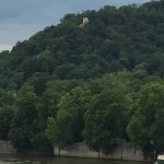 Vltava river and castle