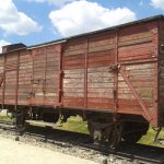 Carriage which brought Jews and others on their journey to Auschwitz