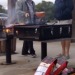 Two BBQ grills. By Chato Stewart
