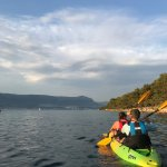 Sea kayaking around Split