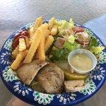 Fresh ahi plate