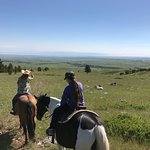 Out on a ride (coming down from the foothills of the Bighorns)