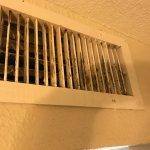 Air vent in bedroom