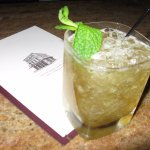 The perfect Mint Julep made with Knob Creek