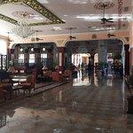Hotel main lobby area