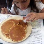 the kids silver dollar pancakes