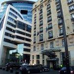 The Hilton hotel ...