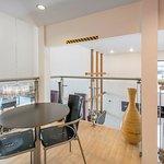 Our award winning modern design lobby - second floor