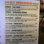 Daily Specials 7/11/17