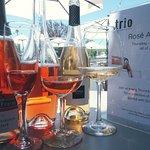 Flight of Rose Wine