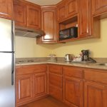1 Bedroom Suite Kitchenette (stove top only). Supplied with kitchen amenities.