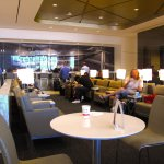 United Club at SFO T3 East Pier - Interior seating
