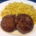 Kubbe con arroz árabe