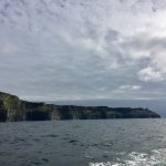 The Cliffs of Moher from our ferry ride